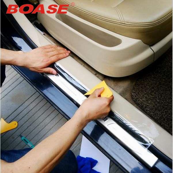 Nouveau style 20cmX/3/4/5/6/8 M Rhino peau voiture autocollant pare-choc capot peinture Protection Film vinyle Transparent décalcomanies accessoires