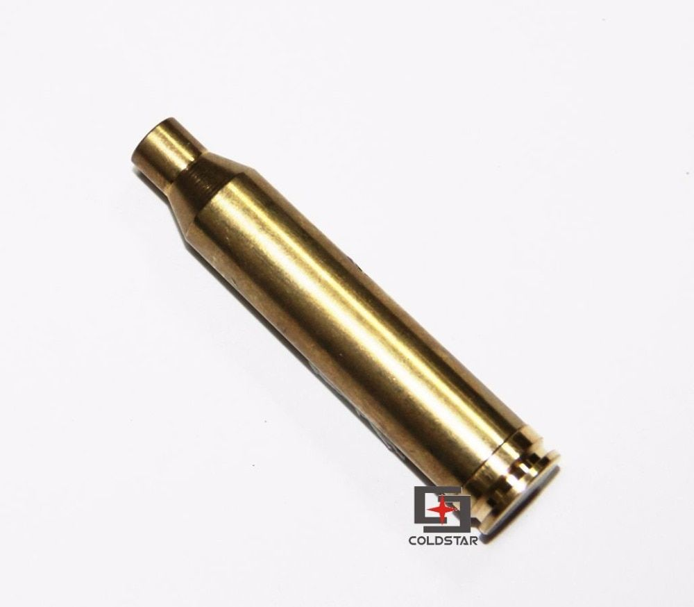 7mm REM MAG Laser Cartridge Bore Sight Red Laser Boresight Boresighter Brass for Outdoor Hunting