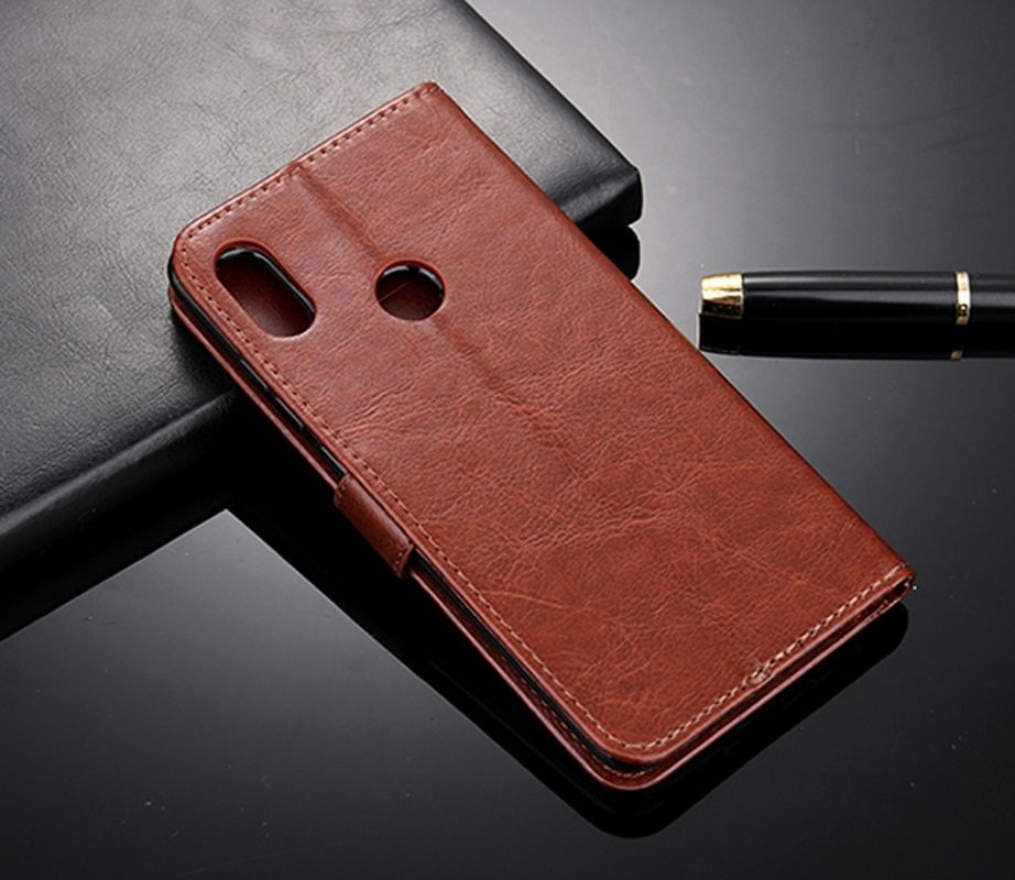 For Zenfone Max Pro M1 ZB602KL Case Premium Leather Wallet Leather Flip Case for ASUS Zenfone Max Pro M1 ZB602KL ZB 602KL X00TD