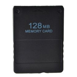 128MB Memory Card Save Game Data Stick Module For Sony PS2 Black for PS Playstation Memory Card