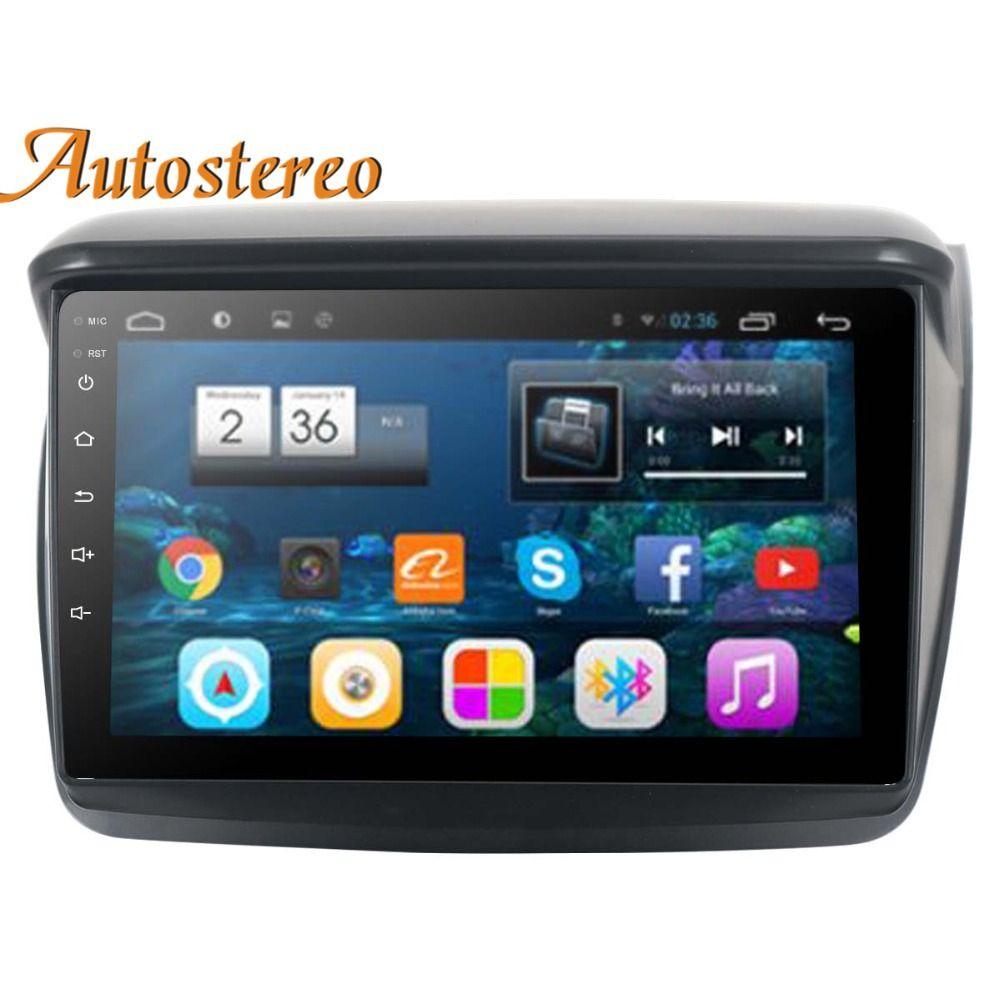 Android 8 Car DVD Player GPS Navigation For MITSUBISHI Montero/L200/PAJERO SPORT/Nativa Radio tape recorder multimedia head unit
