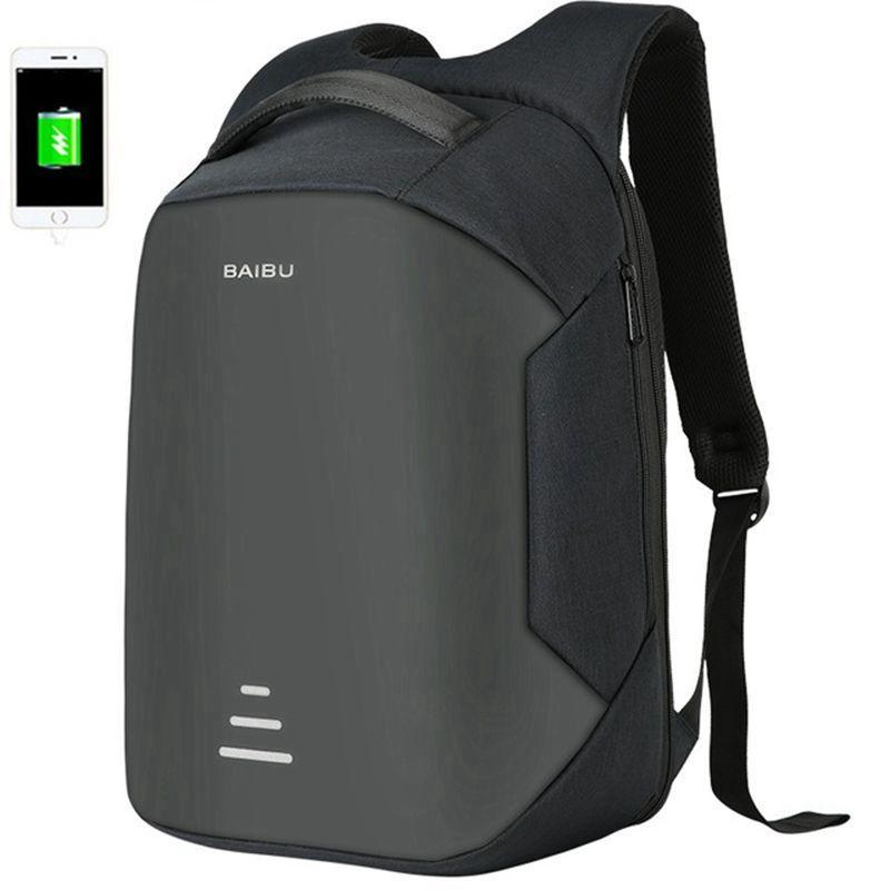Men 15.6Inch Laptop Backpack Anti Theft Backpack Usb Charging Men School Notebook Bag Oxford women Waterproof Travel Backpack