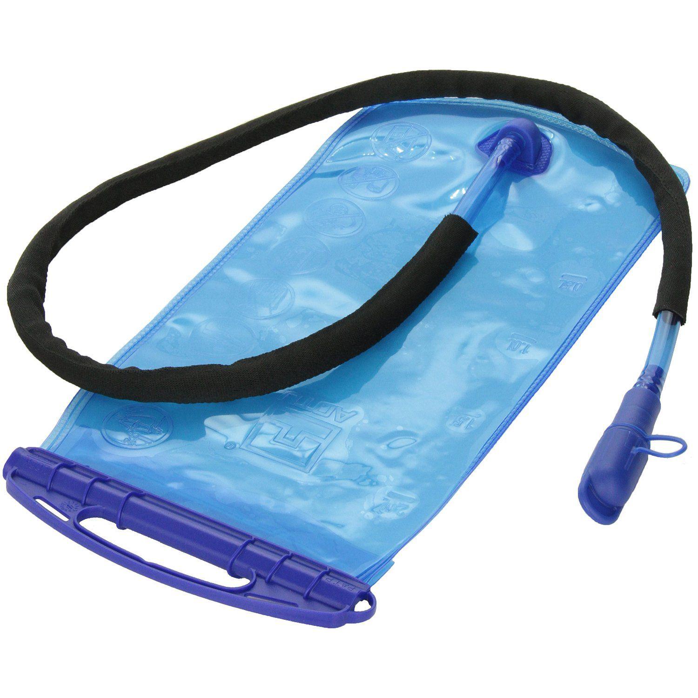JHO-AOTU 2L PEVA Breiten Mund Trink Wasser Blase Tasche für Sport Wandern Camping Klettern Fahrrad Rucksack Tragbare