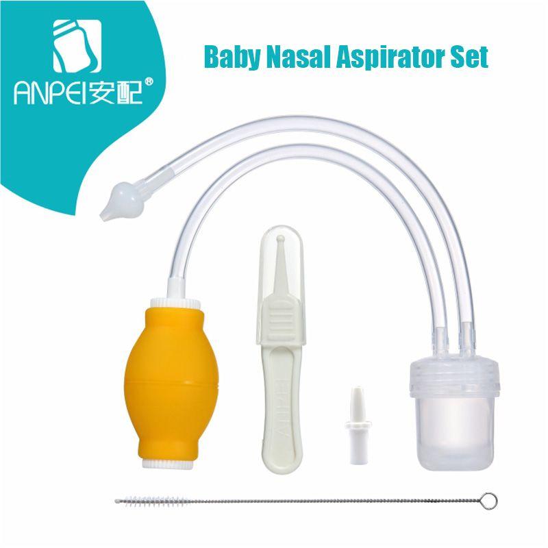 Ensemble aspirateur Nasal bébé produits de soins pour bébé dispositif Anti-lavage à contre-courant aspirateur aspirateur nez nouveau-né aspirateur nettoyeur nez Snot
