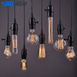 Edison Bulb E27 40W Incandescent Retro Lamp 220V ST64 A19 T45 T10 G80 G95 Ampoule Vintage Bulb Edison Lamp filament Light bulb