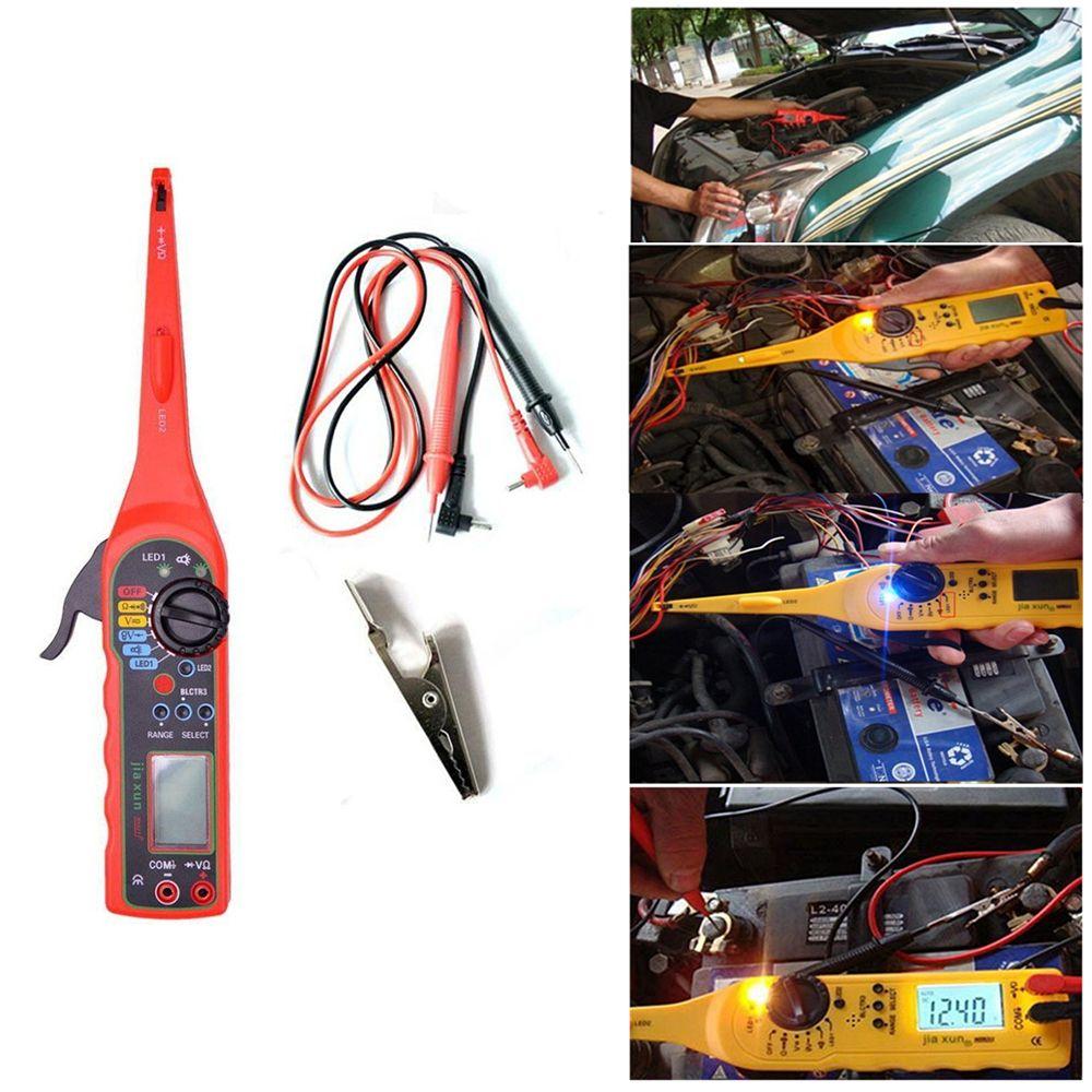 Multifonctionnel Automatique De Testeur de Circuit Multimètre Lampe 3 en 1 Voiture Réparation Automobile Multimètre Électrique 0 v-380 v Tension outils