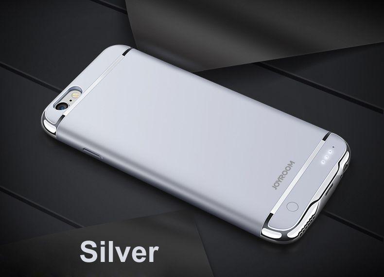 Boîtier de batterie de secours externe Rechargeable pour iPhone 6 6 s Plus batterie externe chargeur de téléphone portable étui pour iPhone 7 7plus