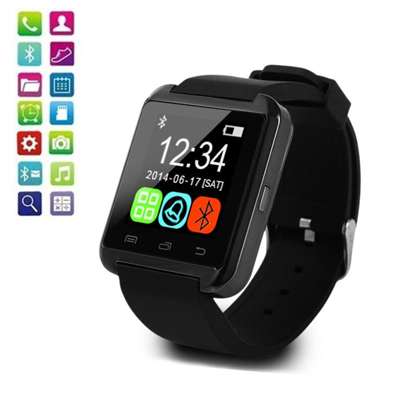 U8 montre intelligente hommes femmes écran tactile Bluetooth montres intelligentes pour Android IOS reloj mujer reloj hombre montre femme hombre homme