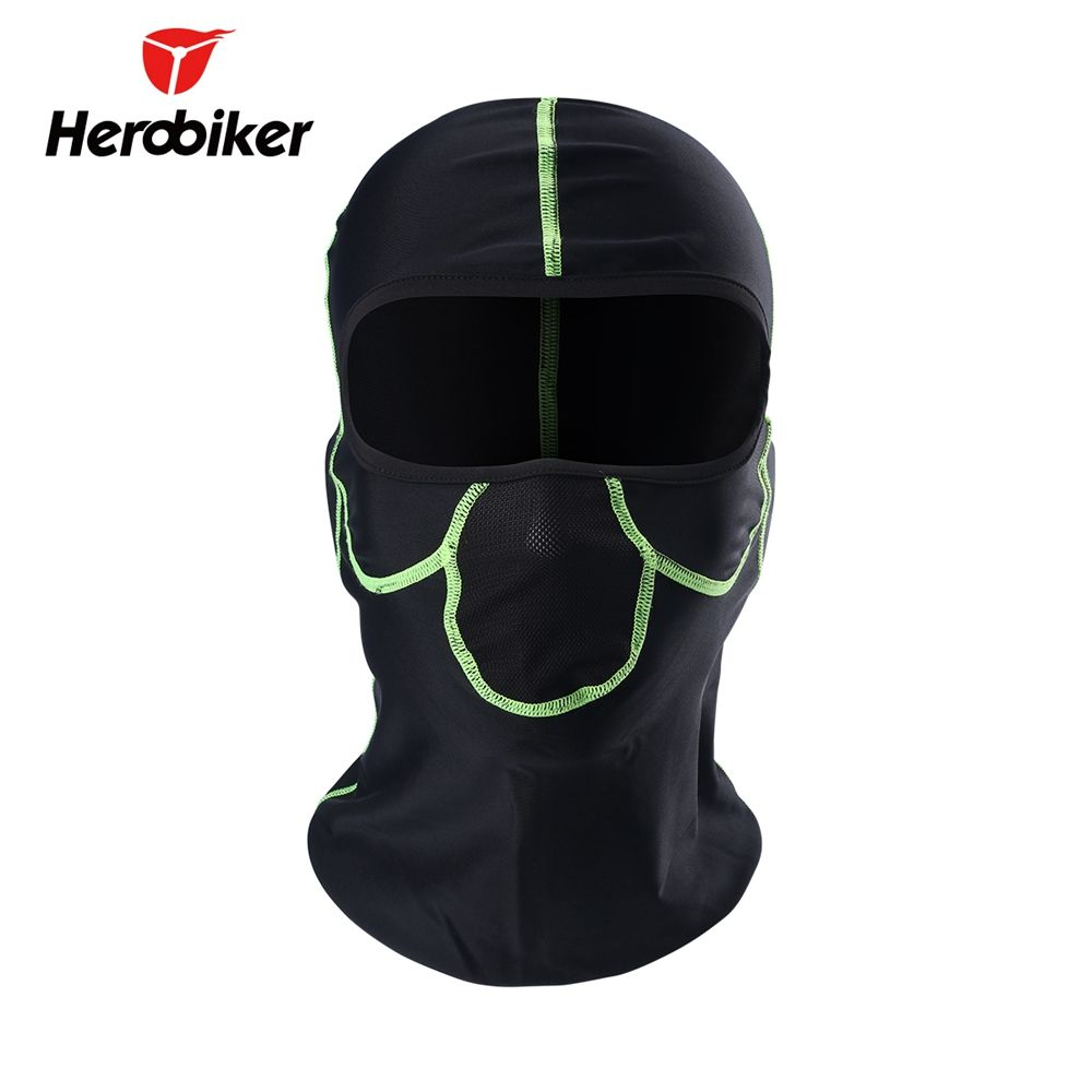HEROBIKER Motorcycle Bicycle Army UV Protection Helmet Full Face Mask Motorcycle Ski Cycling Windproof Mask T-MTT-3025