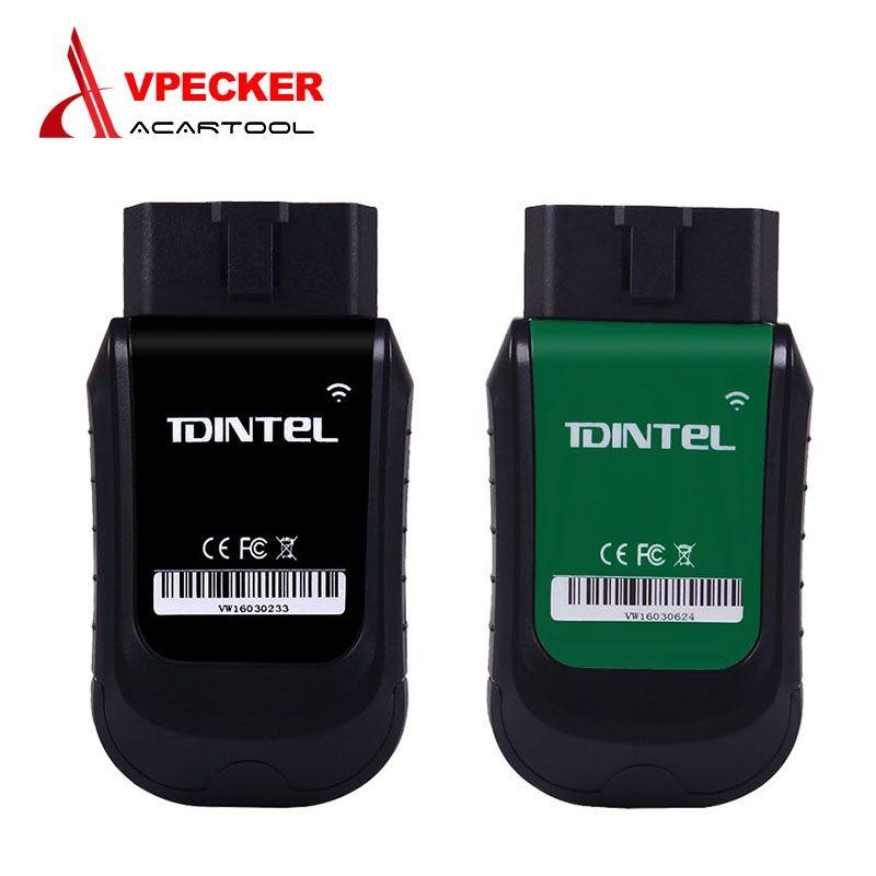 Mulit-sprachen VPECKER E1/XTUNER E3 WIFI Drahtlose Obd2 Scanner Auto Diagnose-Tool Airbag ABS SAS EPB Öl service Reset