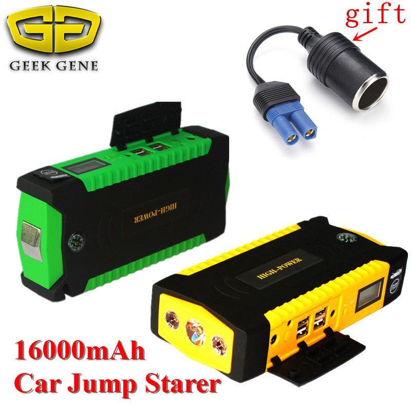 Emergency Car Jump Starter 600A Portable Lighter Power Bank 12V Car Charger For Car Battery Starting Device Diesel Car Starter