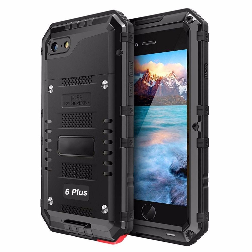 IP68 couverture étanche pour iPhone XS MAX étui étanche à l'eau antichoc lourd étui pour iPhone XR 6 s 7 8 Plus étanche à l'eau dure