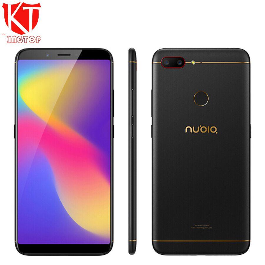 Original Nubia N3 Mobile Phone 5000mAh 4G 64G 6.01 inch Octa Core Front 16.0MP Dual Rear Camera 5000mAh Fingerprint ID Phon