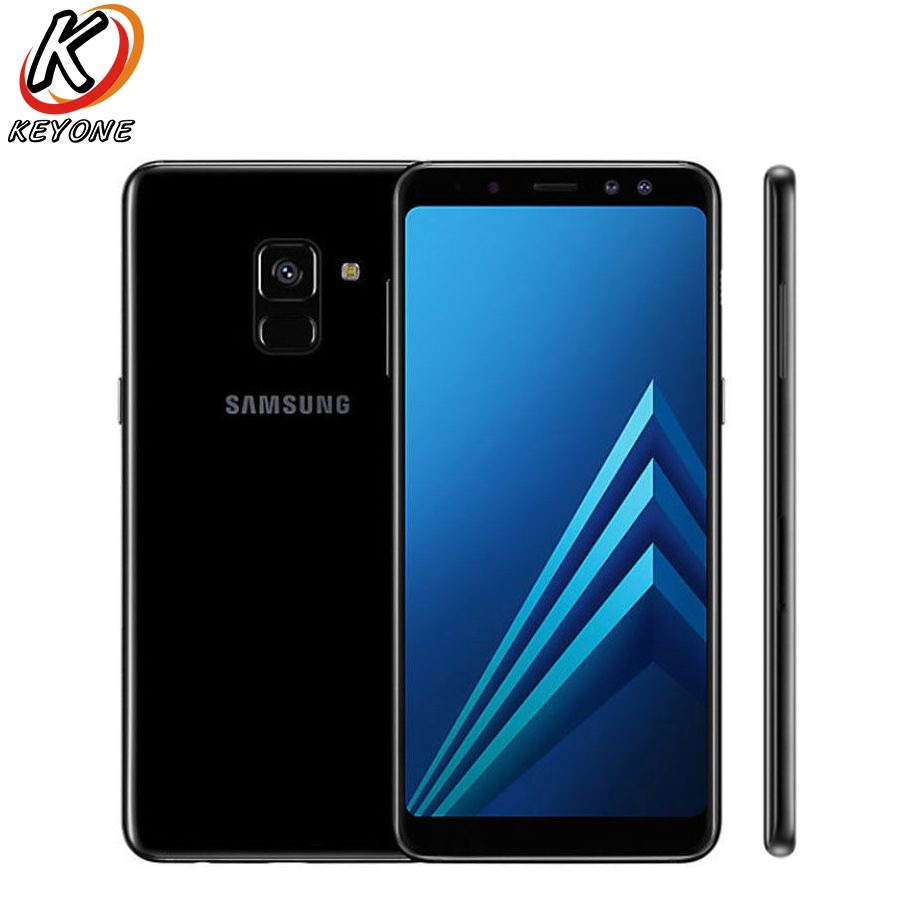 Brand New Samsung Galaxy A8 2018 A530F-DS Mobile Phone 5.6 4GB RAM 64GB ROM Android 5.6 2220x1080 px 16.0MP 3500mAh Cell Phone