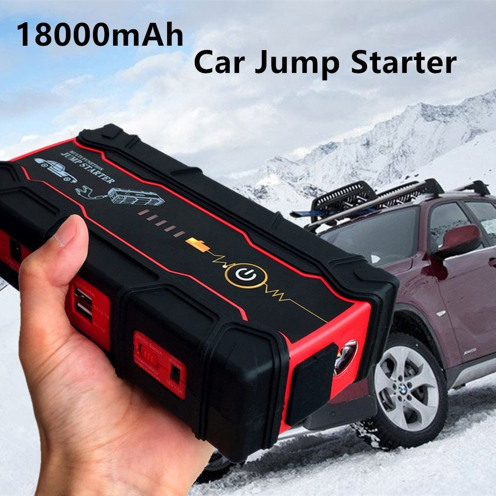 High Power Car Jump Starter 800A Peak Car Battery Booster Charger for Starting Device Portable Power Bank Multi-Function Charger