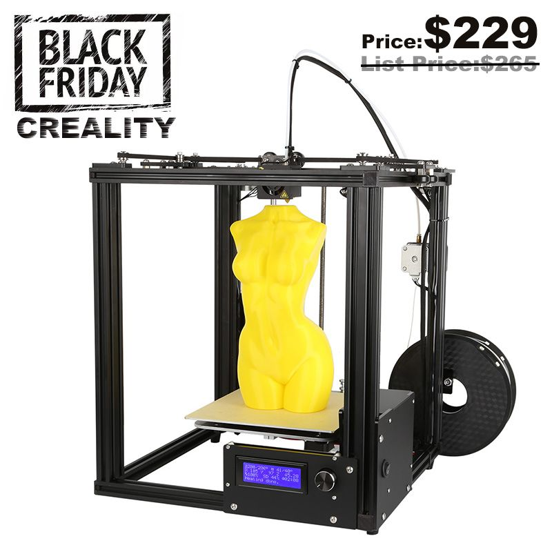 Core-XY V-Slot Frame CREALITY 3D Auto Leveling 3D Printer Ender-4 Laser 3D Printer Kit Filament Monitoring Alarm Protection