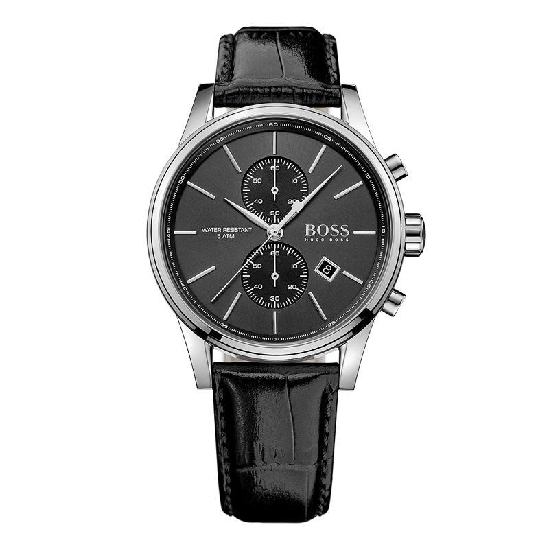 BOSS Deutschland uhren männer luxus marke Mode-business retro multi-funktion Chronograph uhr Leder gürtel relogio masculino