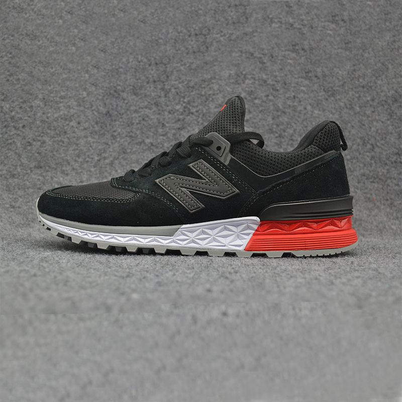 New 2018 NEW BALANCE NB574 574 ms574 Men's shoes women Breathable Sneakers Badminton Shoes size 36-44