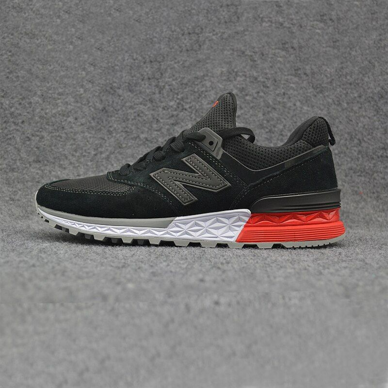 New 2018 NEW BALANCE NB574 574 ms574 Men's shoes women Breathable Sneakers Badminton Shoes size 36-44