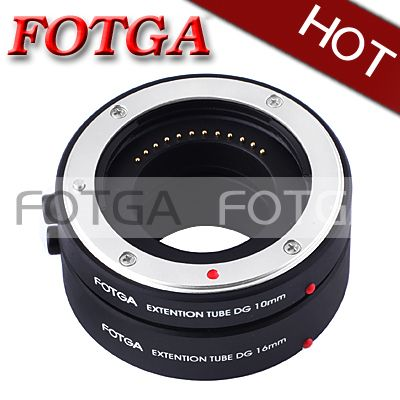 NEW!FOTGA Macro AF Auto Focus Extension Tube 10mm 16mm for FujiFilm X-Pro 1 XF Mount!FREE SHIPPING!WHOLESALE