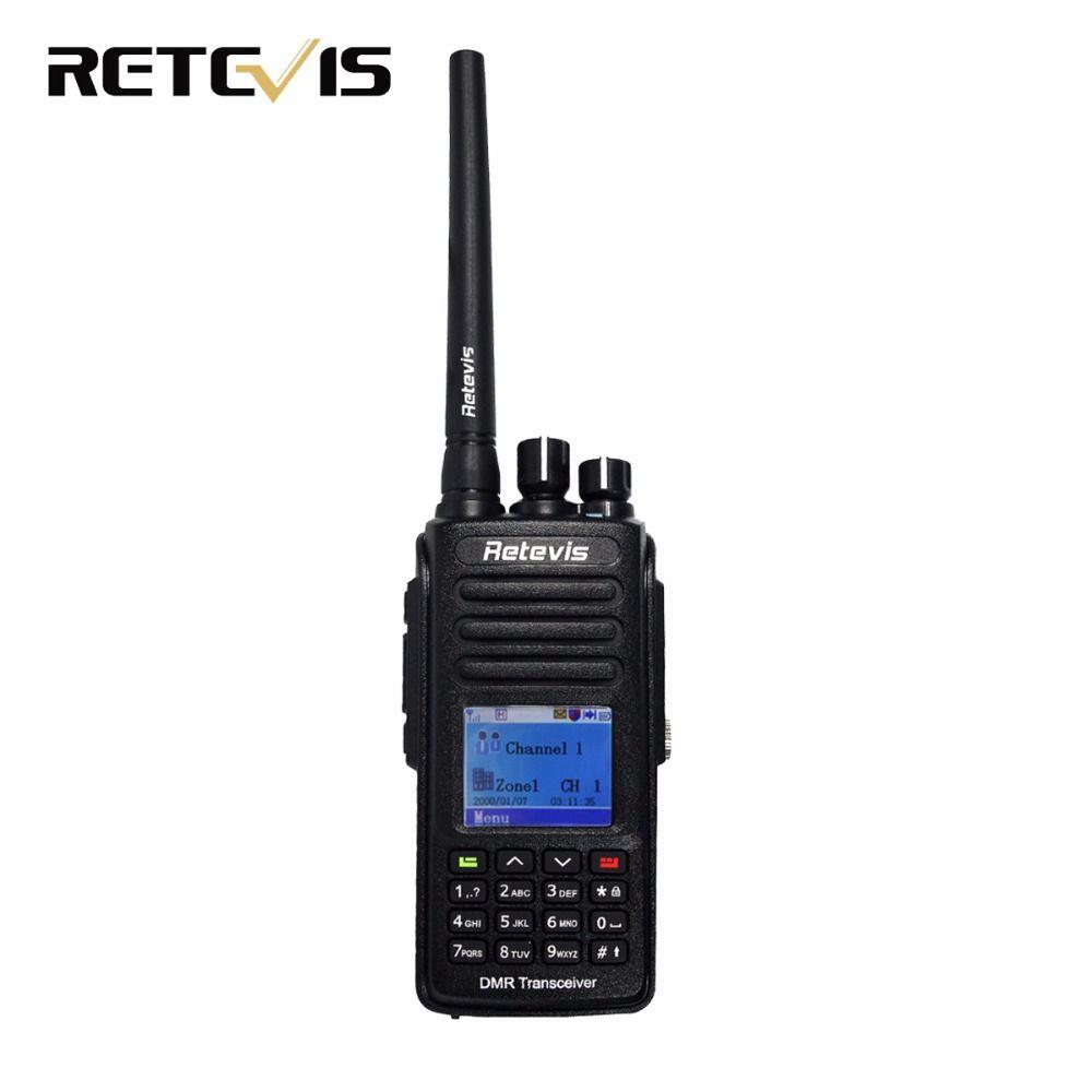 DMR Radio Digital Walkie Talkie Retevis RT8 IP67 Waterproof UHF 400-480Mhz 5W HF Transceiver Ham Radio Communicator A9115