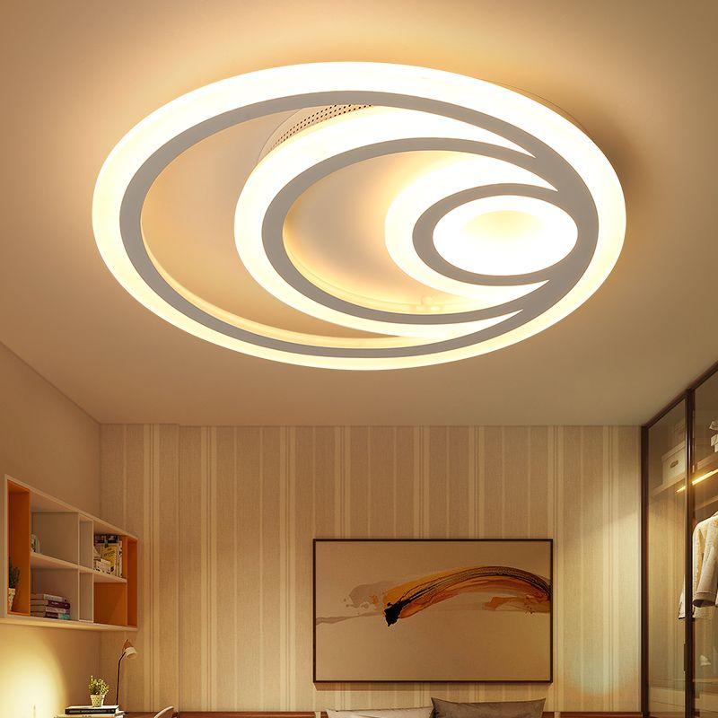 Modern led Ceiling Chandelier L For Study Room Bedroom Living Room Stylish Home Deco AC85-265V led Chandelier lustre Fixtures