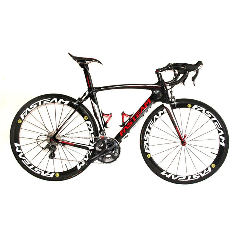HOT SALE 2017 Full Carbon 700C Road Bike Carbon Complete Bicycle With Ultegra R8000 22 Speed Groupset And 50MM Wheelset