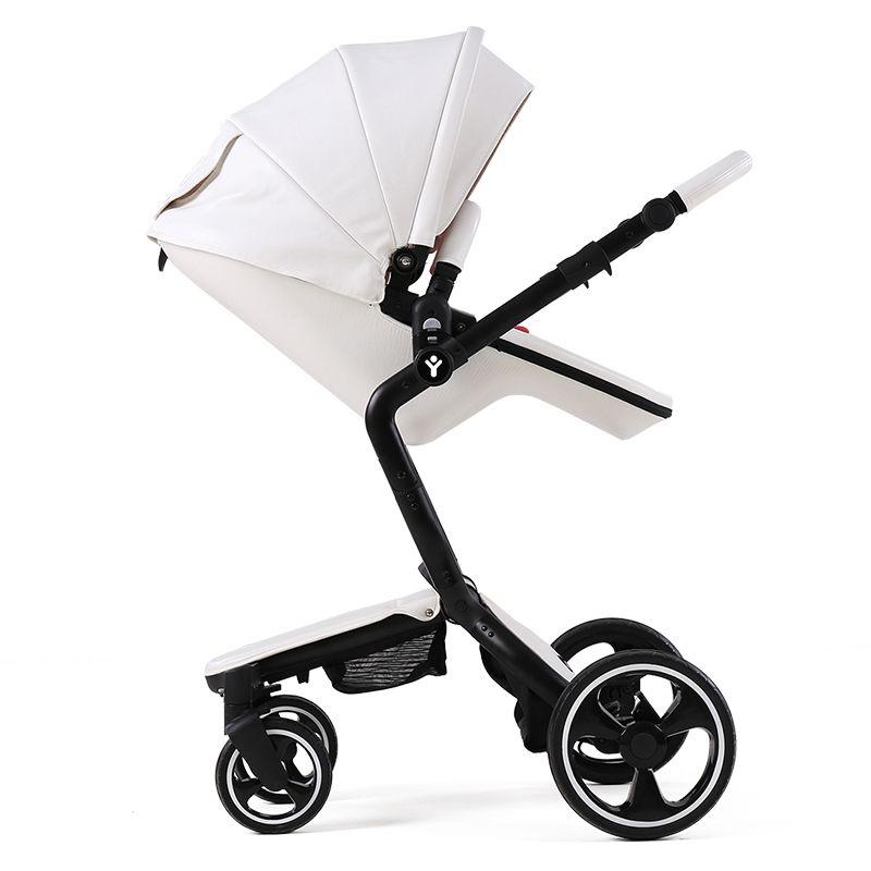 Роскошные 2 в 1 Детские коляски foofoo зрения коляски Европейский складной коляски для новорожденных poussette kinderwagen