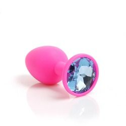 new silicone butt plug suppository gem stimulation butt plug Anal Sex Toys Butt Plug with anal plug Sex Toys Products For Adults