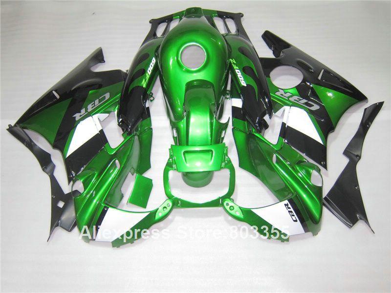 Fairing kit for HONDA CBR600 f2 1994 1993 / 1992 1991 cbr 600 ( Metallic green ) fairings 91 92 93 94 f2 xl113
