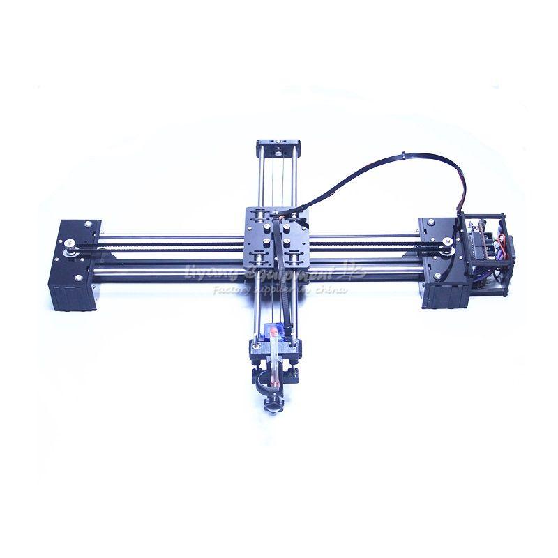DIY LY drawbot pen drawing robot machine lettering corexy plotter CNC V3 shield drawing advanced toys
