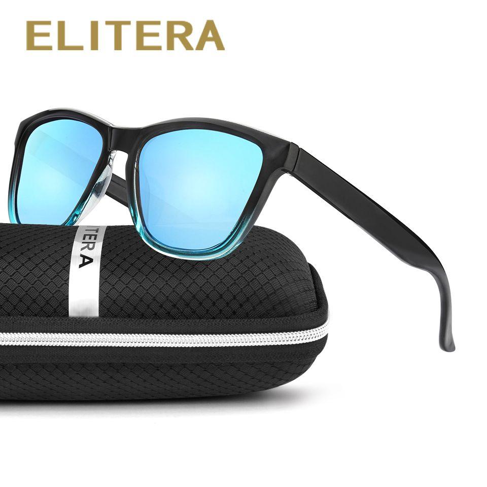 Elitera Новая мода поляризованные Для женщин Солнцезащитные очки для женщин известный леди Брендовая дизайнерская обувь градиент Цвета зерка...