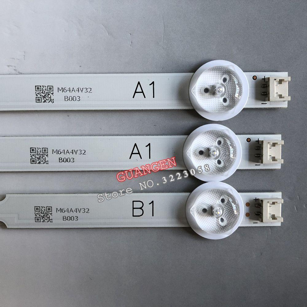 3 pièces 7LED Lampe de Rétro-Éclairage Bande pour LG 32 TÉLÉVISION 32ln541v 32LN540V A1 B1-Type 6916L-1437A 6916L-1438A 6916L-1204A 6916L-1426A 63cm