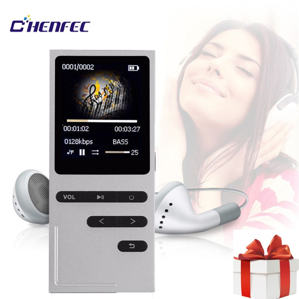 CHENFEC C18 Original Mp3 Player 16GB Speaker MP3 Music Player Sports 1.8 Inch Screen High Quality Lossless Voice Recorder FM MP3