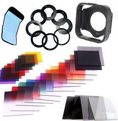 40 in1 gradué ND2 4 8 16 ensemble de filtres + 52mm 58mm 77mm anneau adaptateur pour livraison gratuite Cokin