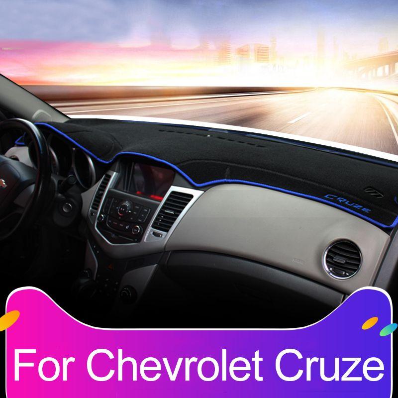 Car dashboard Avoid light pad Instrument platform desk cover Mats Carpets For Chevrolet Cruze 2009-2013 2014 2015 2016 2017 2018