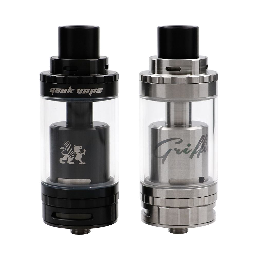 100% Original GeekVape Griffin 25 Plus RTA Tank 5ml Capacity Rebuildable Tank Atomizer with Kennedy Style Bottom Airflow for Mod
