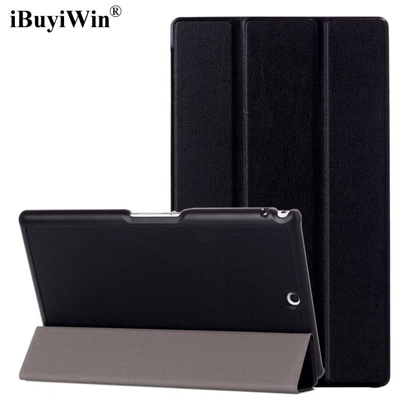 iBuyiWin Ultra Slim PU Leather Case for Sony Xperia Z3 Compact 8.0