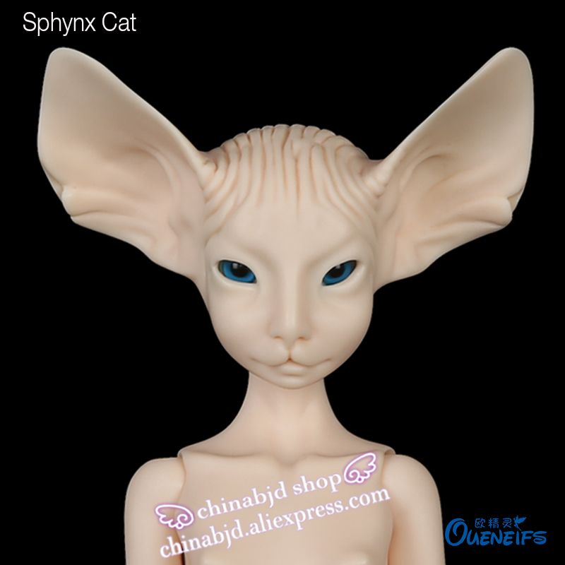 BJD Doll Sphynx Cat Lillycat Constantine Noble Radicelle Handmade Resin Unique Pretty Figure MSD Toys For Kids Ceris Dolls