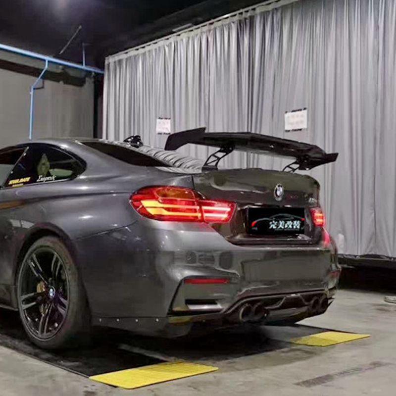Auto Styling Außen Kohlefaser Modifizierte Heckspoiler Schwanz Trunk Lip Flügel dekoration Fit Für BMW M1 M3 M4 M5 M6 MAD GT Spoiler