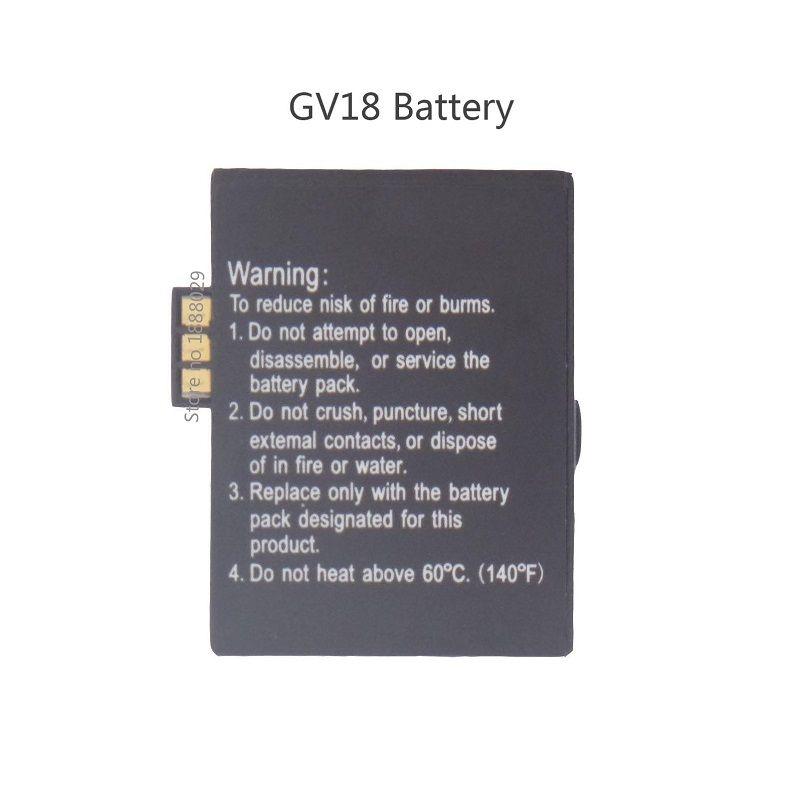 Marque Nouvelle Batterie De Remplacement pour Aplus GV18 Montre Smart Watch, 3.7 V 550 mAh, Rechargeable Au Lithium Polymère Batterie pour Montre Smart Watch GV18