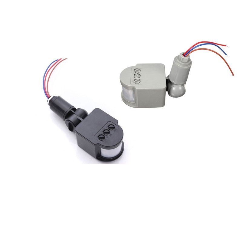 Motion Sensor Licht Schalter Im Freien Flutlicht AC220V 110 v Automatische Infrarot PIR Motion Sensor Schalter für LED Licht