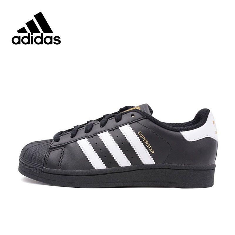 Original New Arrival Official Adidas SUPERSTAR Clover Women's And Men's Skateboarding Shoes Sport Outdoor Sneakers B23642