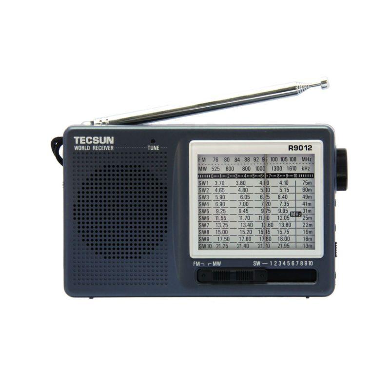 Livraison Gratuite TECSUN R-9012 FM/AM/SW 12 Bandes Portable Radio Récepteur