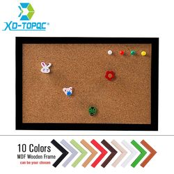 XINDI новая МДФ рамка штыревая доска пробковая 20*30 см доска для объявлений 5 цветов доски для сообщений для дома Бесплатная доставка