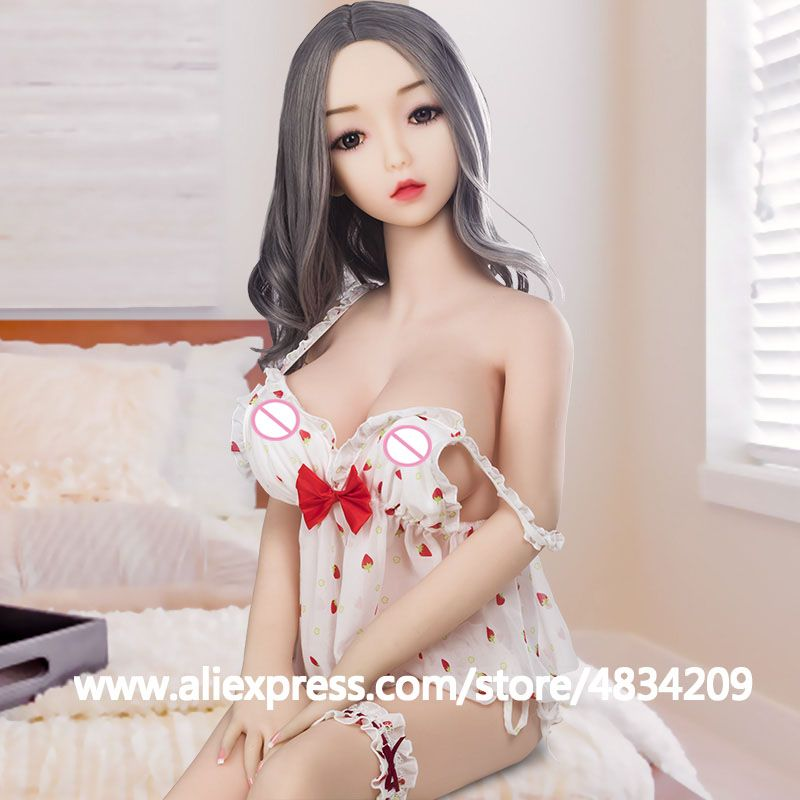 Real Silicone Sex Dolls 100cm skeleton robot japanese realistic anime sexy love doll mini vagina adult full life toys for men