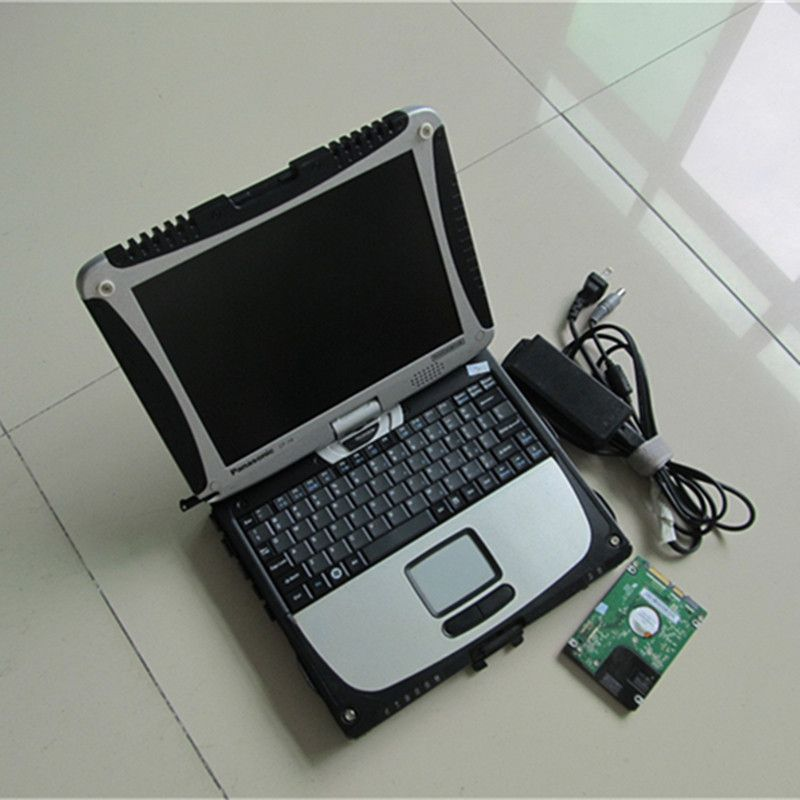 Auto Diagnose Laptop für Panasonic Toughbook Cf 19 Tablet PC (Robuste, Touchscreen, 4 gb RAM) mit HDD WIN7 System