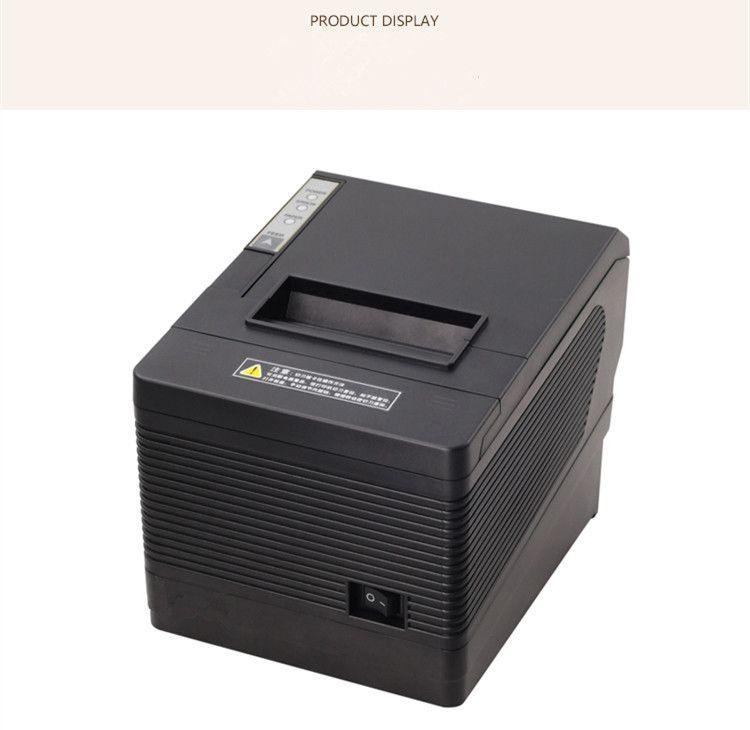 2017 nouvelle vente en gros nouvelle haute qualité 80mm imprimante thermique pos USB + LAN + port série imprimante coupe automatique