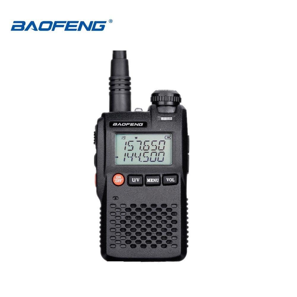 100% Original Meilleur Prix Baofeng UV-3R Mini Talkie Walkie Double Bande VHF UHF Portable UV3R Deux Way Radio Jambon Hf émetteur-récepteur UV 3R