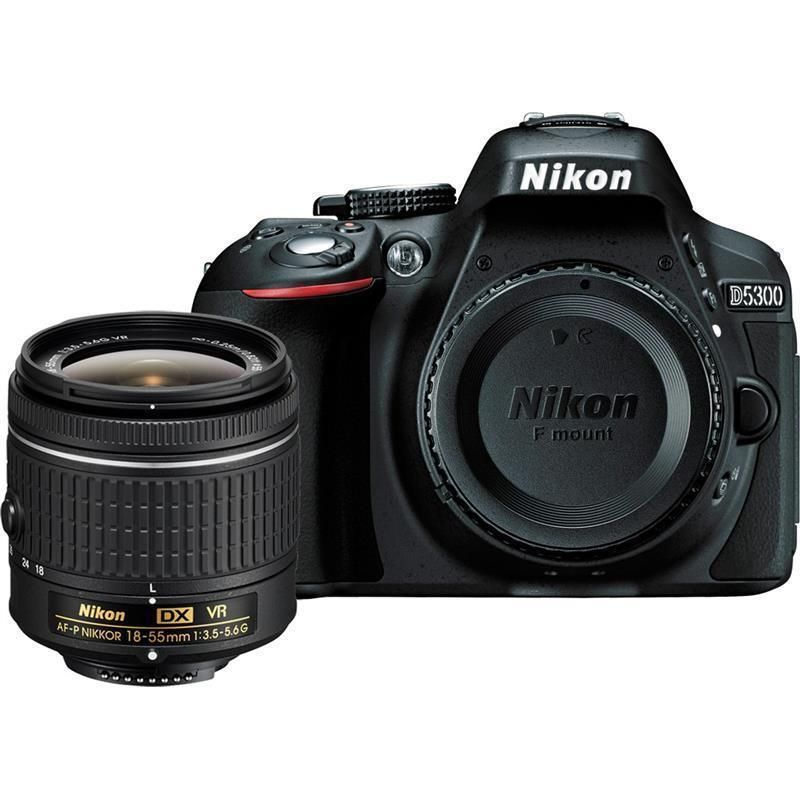 Nikon D5300 DSLR Kamera-24,2 MEGAPIXEL-1080 P Video-3,2
